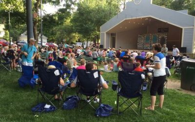 Ballet in the Park – in June