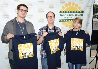 doc sunback film fest mike briley Filmmakers Friday T-shirts Make Art Show Truth