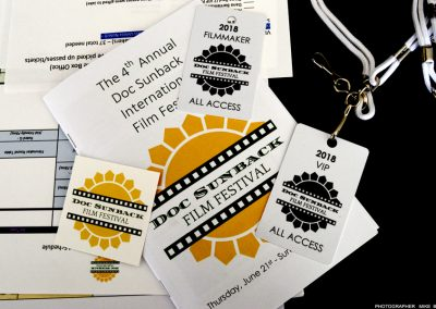 doc sunback film festival 2018 mike briley Passes Program Schedule