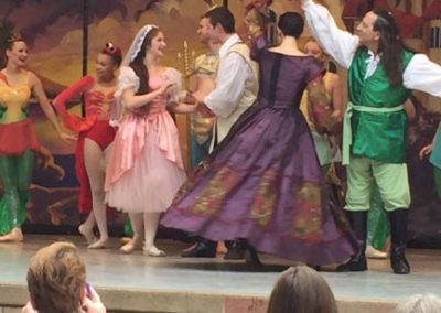 Ballet in the Park Small Image Ballerinas Crowd & Stage