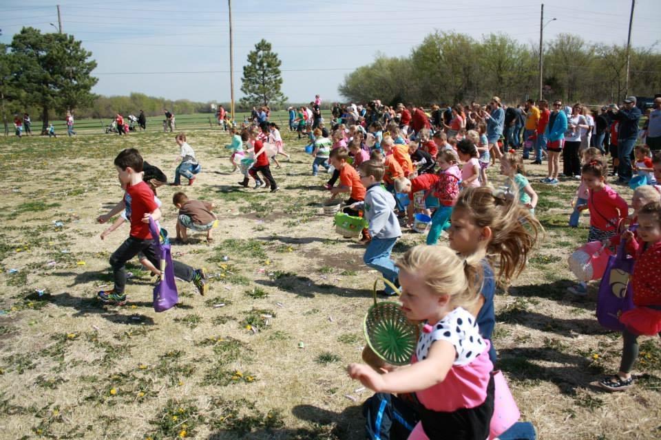 Mulvane Community Easter Egg Hunt – in Spring