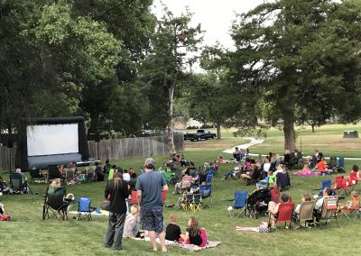 Library Outdoor Movie Event