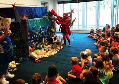 Library Puppet Show